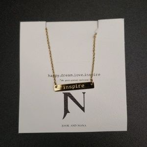 """Jook and Nona """"Inspire"""" necklace"""